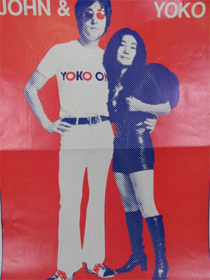 John Lennon and Yoko Ono Poster from Circus Magazine 1971