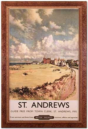 British Railways Poster: St. Andrews (1957)