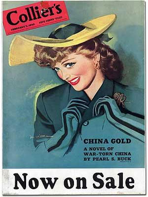 Collier's February 7, 1942: China Gold: A Novel of War-Torn China by Pearl S. Buck Now on Sale