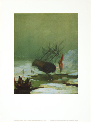 Caspar David Friedrich Ship in the Arctic Ocean