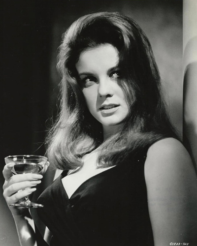 Original print of Ann-Margret who starred in The Cincinnati Kid with Steve McQeeen.