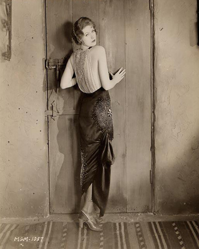 Portrait photograph of Greta Garbo from the 1926 film The Temptress