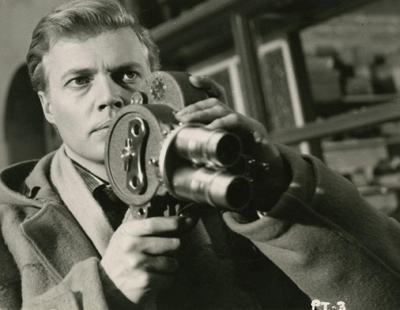 Set of four original photos from the 1961 film, Peeping Tom.