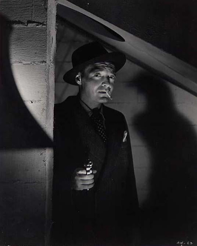 A collection of 5 original photographs from 1943 of Peter Lorre from various films.