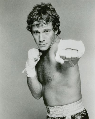 Two vintage black-and-white single weight still photographs from the 1979 film. Features Ryan O'Neal.
