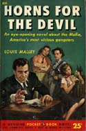 Horns for the Devil by Louis Malley