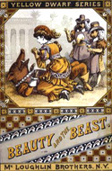 Beauty and the Beast - A Fairy Tale Picture Book illustrated by Walter Crane