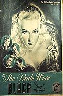 The Bride Wore Black by William Irish, (Cornell Woolrich)