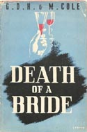 Death of a Bride by Margaret & G.D.H Cole