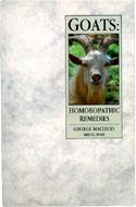 Goats: Homeopathic Remedies by George Macleod