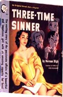 Three-Time Sinner by Norman Bligh