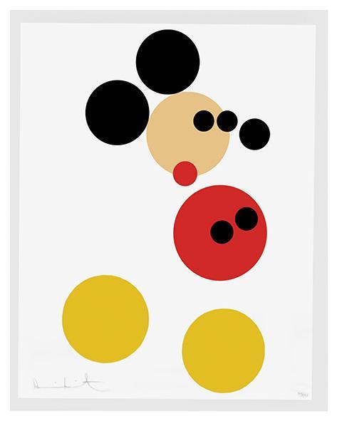 Serigrafía de Mickey Mouse