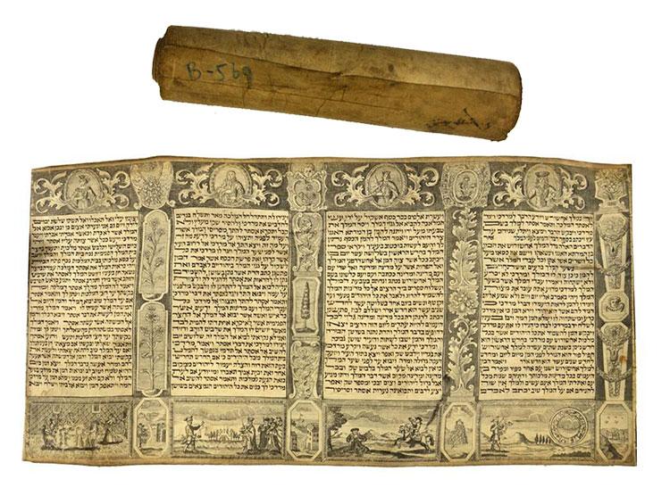 An Ester Scroll
