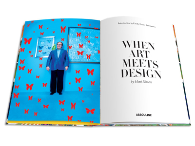 When Art Meets Design by Hunt Slonem