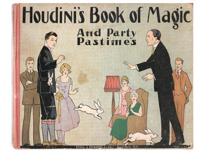 Houdini's Book of Magic and Party Pastimes by Houdini