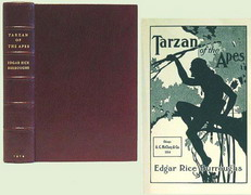First Edition of Tarzan and the Apes