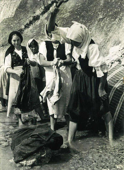 Yugoslavian women working, circa 1960s.